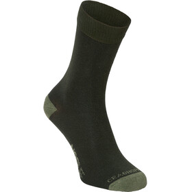 Craghoppers Single NosiLife Travel Socks Women Parka Green